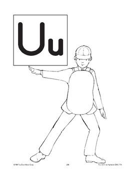 Teaching the Letter: Uu