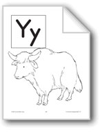 Teaching the Letter: Yy