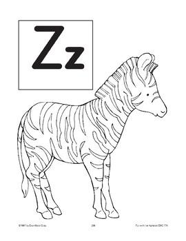 Teaching the Letter: Zz