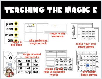 Teaching the Magic e
