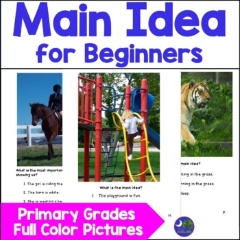 Teaching Main Idea Elementary Primary Level Using Real Pho