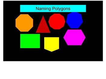 Teaching the Names of Geometric Figures