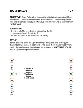 Teaching the Nervous System in P.E.: Team Relays