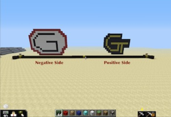 Teaching the Number Line with Minecraft - Student Instruction Sheet