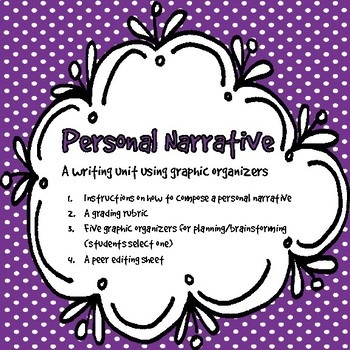 Teaching the Personal Narrative Form