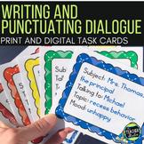 Teaching Dialogue: Writing & Punctuating Dialogue Task Car