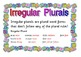 Teaching the Rules of Plurals-Poster Set
