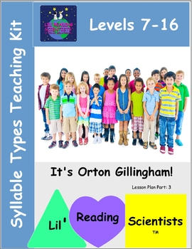 Syllable Types Teaching Kit  (OG)
