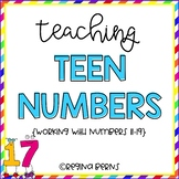 Teaching the Teens - Numbers 11-19