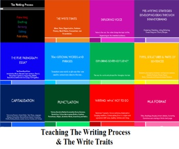 Teaching the Writing Process and the Write Traits