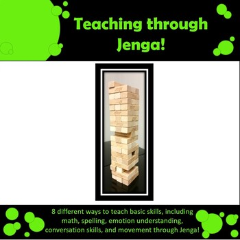 Teaching through Jenga
