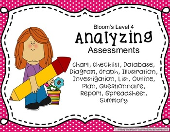 Teaching with Bloom's Taxonomy Task Cards and Poster Set