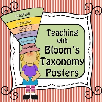 Teaching with Bloom's Taxonomy: Classroom Bulletin Board/Wall Posters