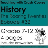 Crash Courses History: The Roaring 20's