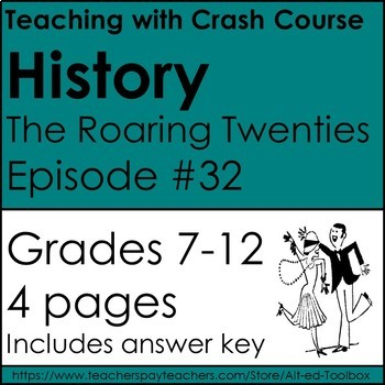 Crash Courses History: The Roaring 20's