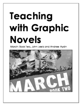 March: Book Two by John Lewis (Worksheet and Flashcards)