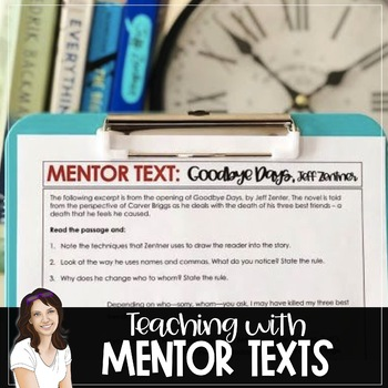 Teaching with Mentor Texts
