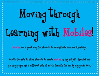 Teaching with Mobiles