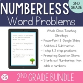 Teaching with Numberless Word Problems 2nd Grade Bundle