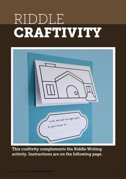 Literacy Mini Unit - Process Writing and Interactive Book • FREE •