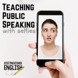Public Speaking Selfies Activity for Teaching Expression