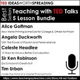 TED Talk 5 Lesson Bundle (((Bestsellers)))