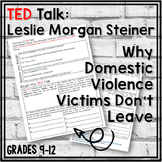 TED Talks Lesson (Why Domestic Violence Victims Don't Leave)
