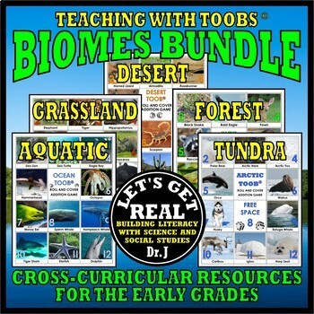 Teaching with TOOBS: BIOMES BUNDLE