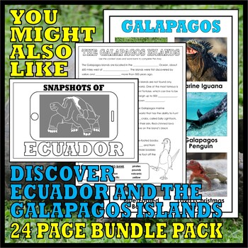 Teaching with TOOBS: GALAPAGOS ISLANDS