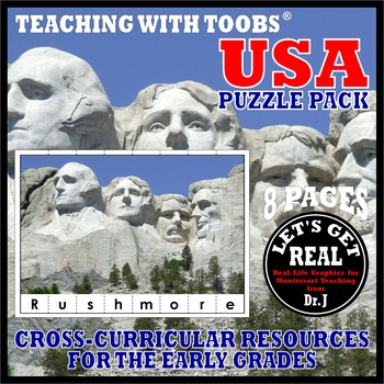 Teaching with TOOBS: USA PUZZLE PACK