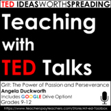 Ted Talk Lesson (Grit:The Power of Passion and Perseverance) Google Drive Option