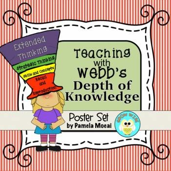 Teaching with Webb's Depth of Knowledge Poster Set