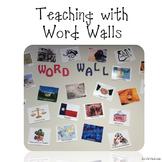 Word Walls Teaching Ideas
