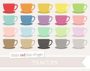 Teacup Clipart; Tea Cup