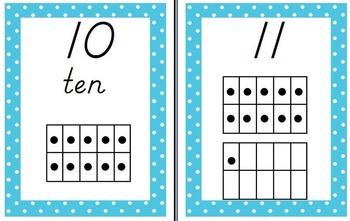 Teal, Black, and Pink Polka Dot Theme Classroom Bundle