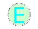 Editable Teal Bulletin Subjects