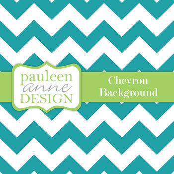 Teal Chevron Background