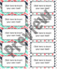 "Teal, Navy, Gray, & Coral Editable Avery Labels- #8163 (2"" x 4"")"