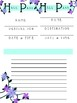Teal & Purple Blank Teacher Printables