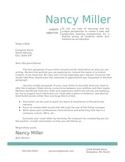 Teal Teaching Cover Letter Template DIY