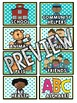 Teal & Yellow Classroom Decor: Book Tub Labels
