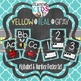 {Teal, Yellow, Gray} BUNDLE- Editable Banner & Labels, ABC