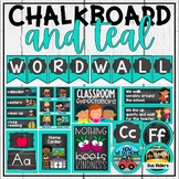Teal and Chalkboard Classroom Decor Bundle