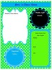 Teal and Lime Teacher Binder Template Bundle Pack