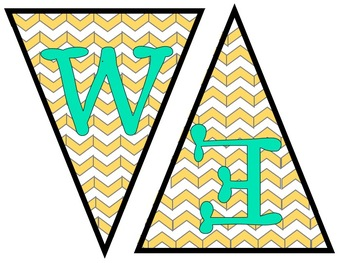 Teal and Yellow Classroom Decor