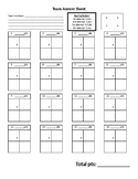 Team Based Learning Team Scratch off answer sheet template