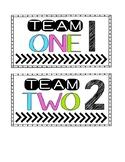 Team Bins - Team Tub Labels