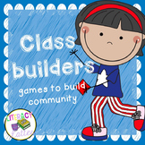 Team Builders: Games to Build the Classroom Community