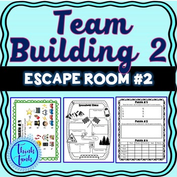 Team Building 2 Escape Room - Any Content - Teamwork Challenge