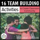 Team Building Activities - 16 Ways to Build Classroom Community